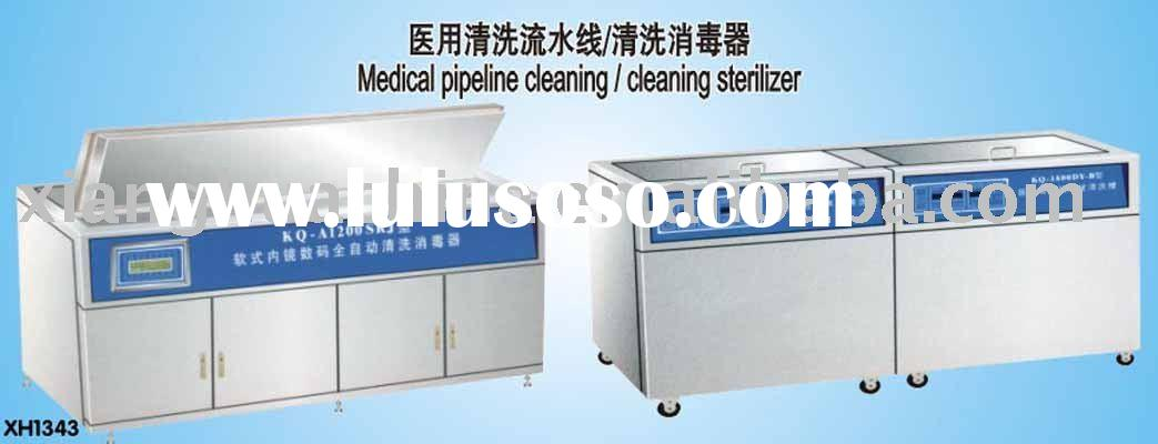 Medical pipeline cleaning/cleaning sterilizer