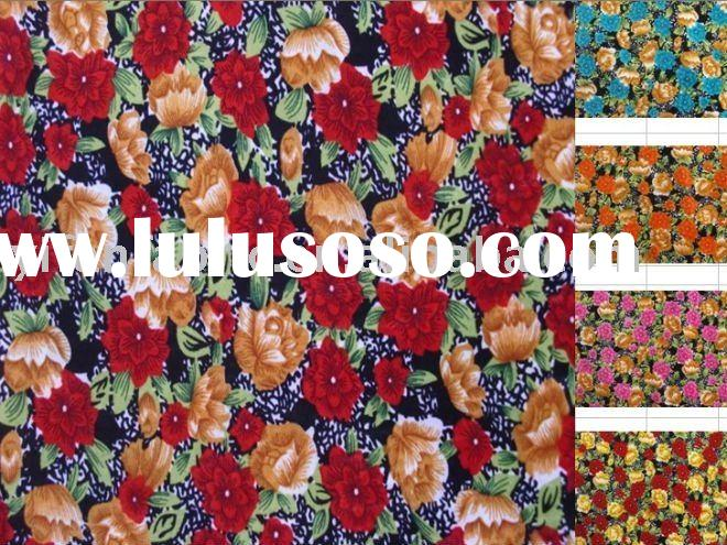 PRINTED FABRIC FOR DRESS/LYCRA FABRIC/PRINTED FABRIC/KNITTED FABRIC/4 WAY STRETCH FABRIC/STRETCH TER