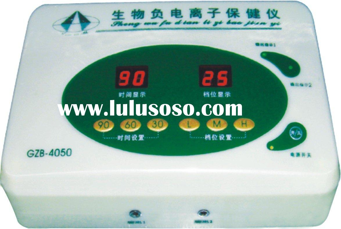 Physiotherapy equipment of negative ion for high blood pressure