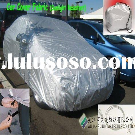Polyester Car Cover Fabric(silver coated)
