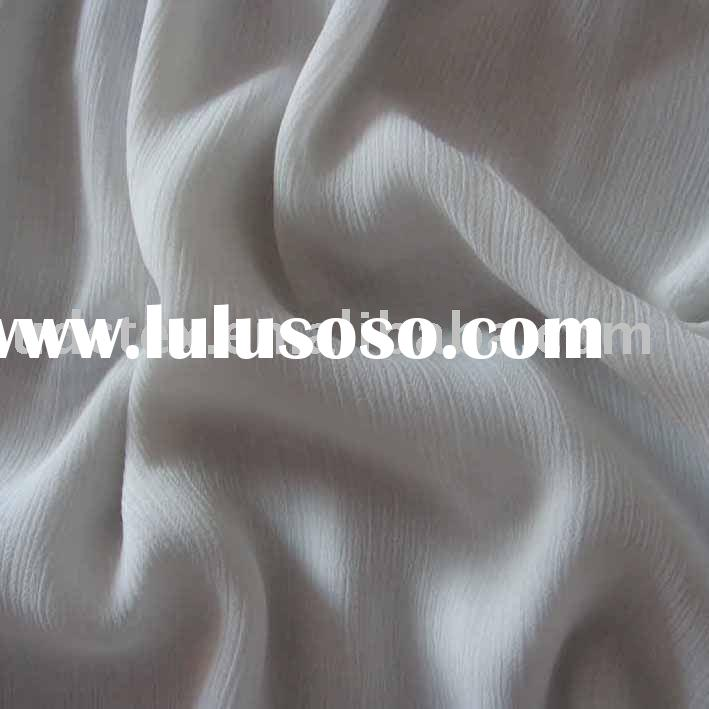 Polyester Yoryu/Chiffon Fabric (Pleated)