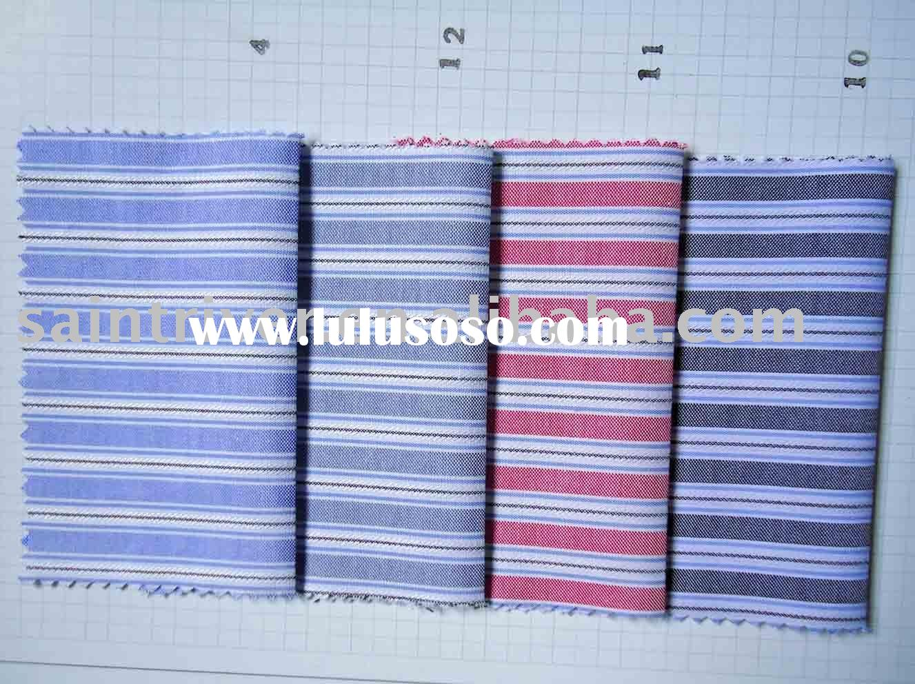Polyester/ cotton wholesale fabric/yarn dyed fabric (8107#)