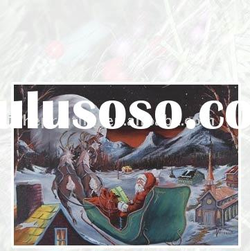 The Sledge Card of the Father Christmas Card