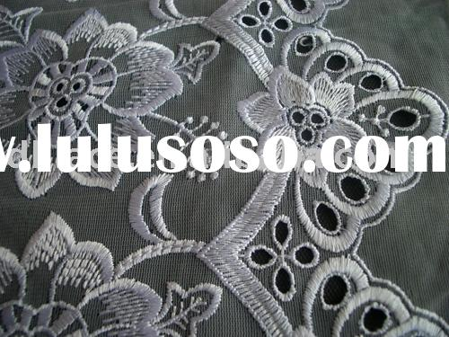 Voile Embroidery Lace/Swiss Lace/Embroidery Lace