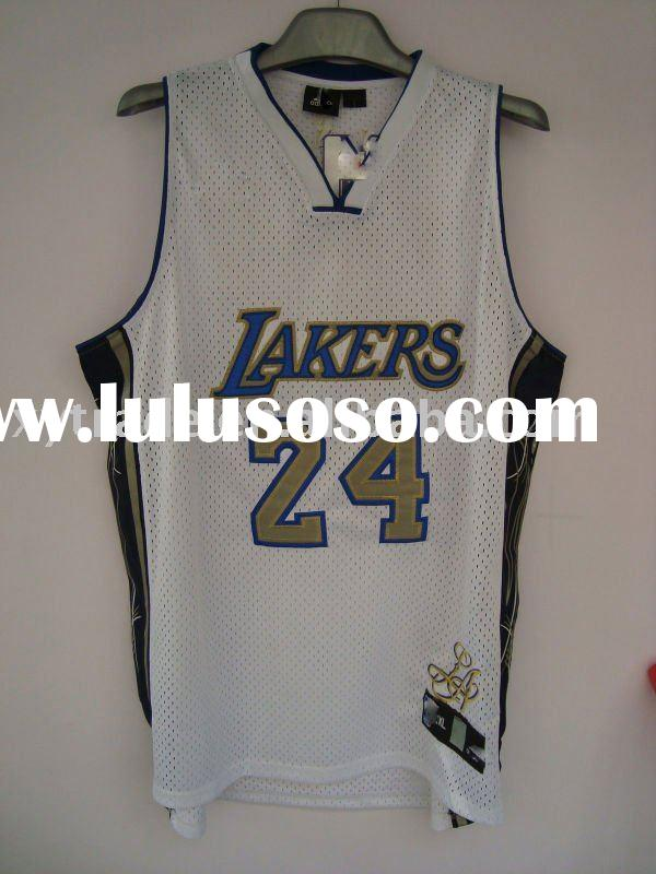 Wholesale Los Angeles Lakers throwback jersey #24 basketball shirt
