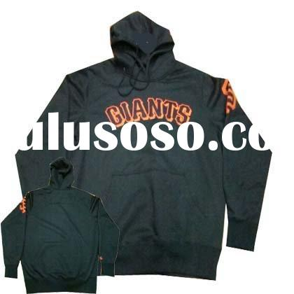 Wholesale retail 100% cotton Giants baseball Jacket accept paypal