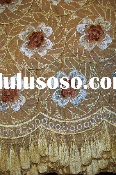 african embroidered swiss hand cut voile lace fabric