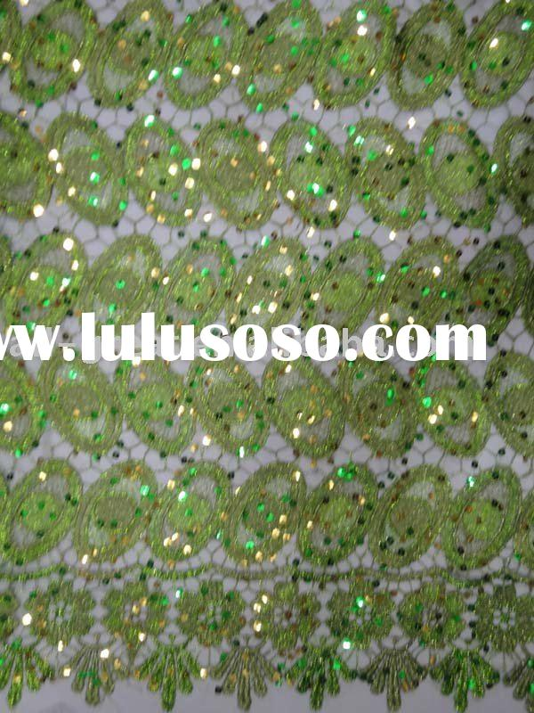 african french beaded lace