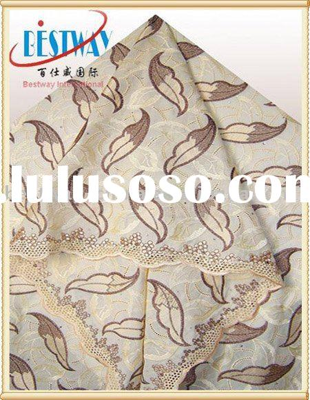african swiss lace for high quality
