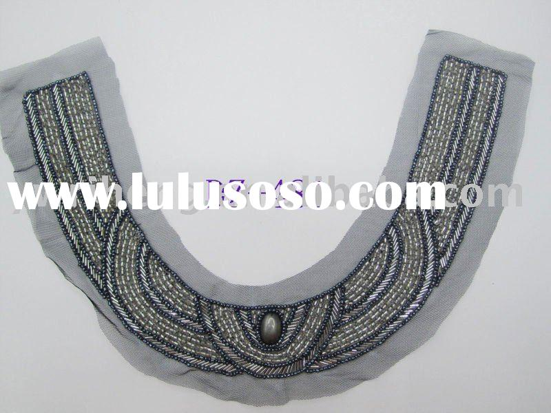 beaded neckline/collar