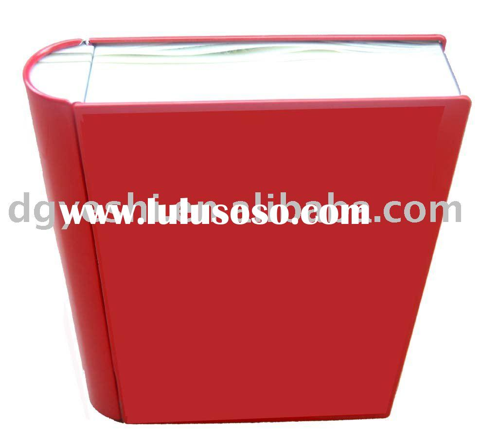 book shape tin box,gift tin box,packing tin box,tin can,gift box