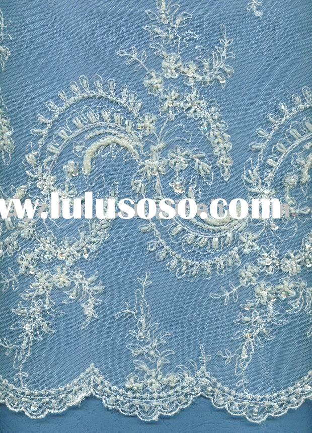 bridal  tulle fabric lace