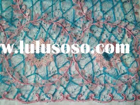 french lace, embroidery lace fabric