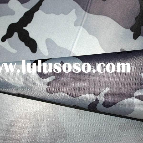 polyester oxford camouflage fabric