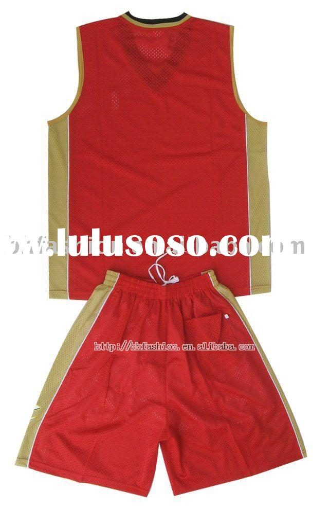 top quality basketball jersey jersey basketball wholesale uniform suit set kit  shirt tops  shorts g