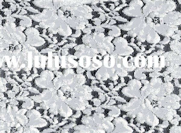 white swiss lace fabric for dress