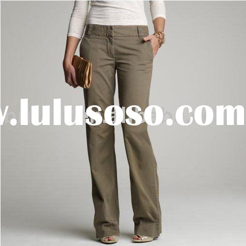 Cool Casual Studios Low Waist Pants  Stretch Cotton For Women  Save 71