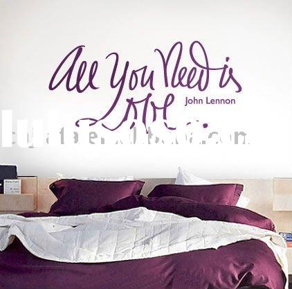 2011 removable wall sticker home decor JF-0183