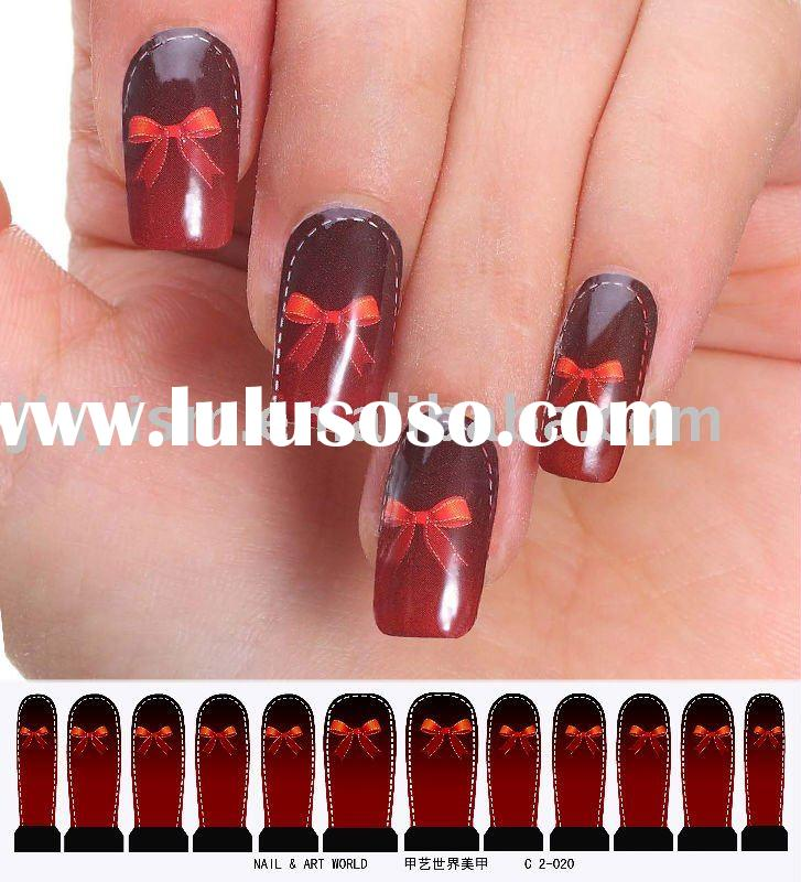 3D water transfer nail art products