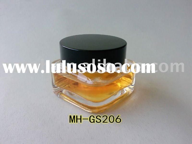 50ml MH Clear/Transparent glass cream jar