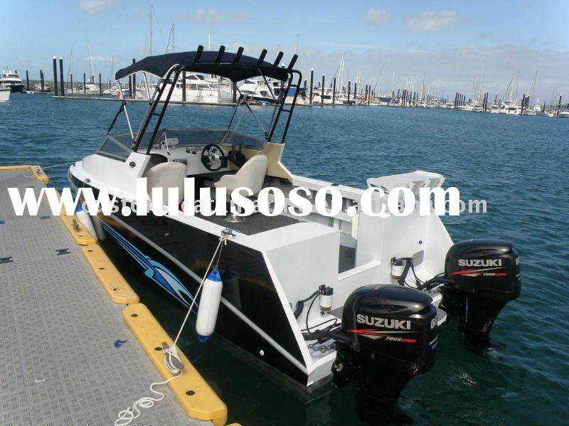 5.2m aluminium pleasure boats/fishing boats