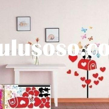 Baby room Wall Vinyl , Child house Decorative wall stickers