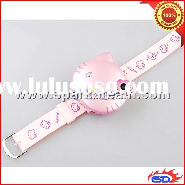C109 New Hello Kitty Cartoon Novelty cell phone Children phone Wrist Watch Design MP3/4 Bluetooth