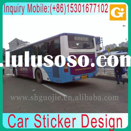 Car Sticker Design