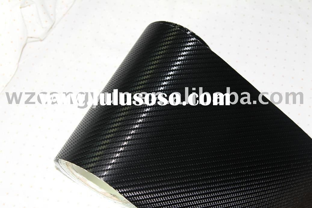 Carbon Fiber Vinyl Car Sticker(with air free bubbles)