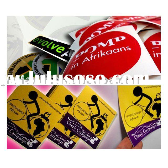 Customized PVC Self-adhesive Sticker