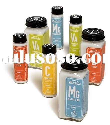 Customized PVC bottle label sticker printing