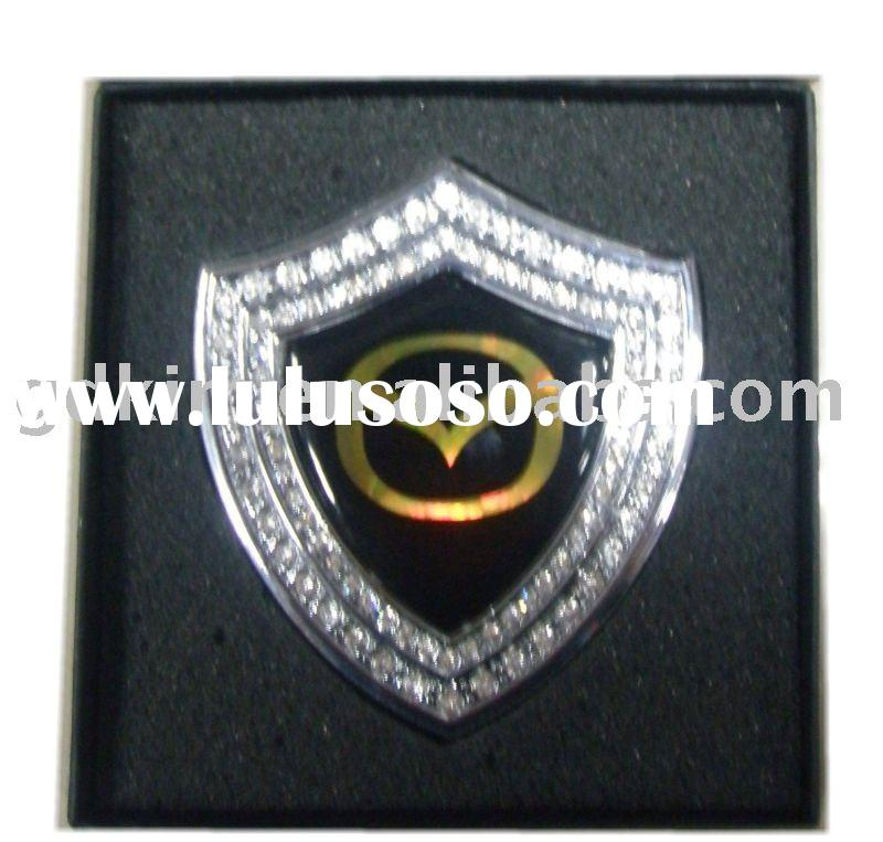 DAD jewel car badges,emblems,logo for outo accessories