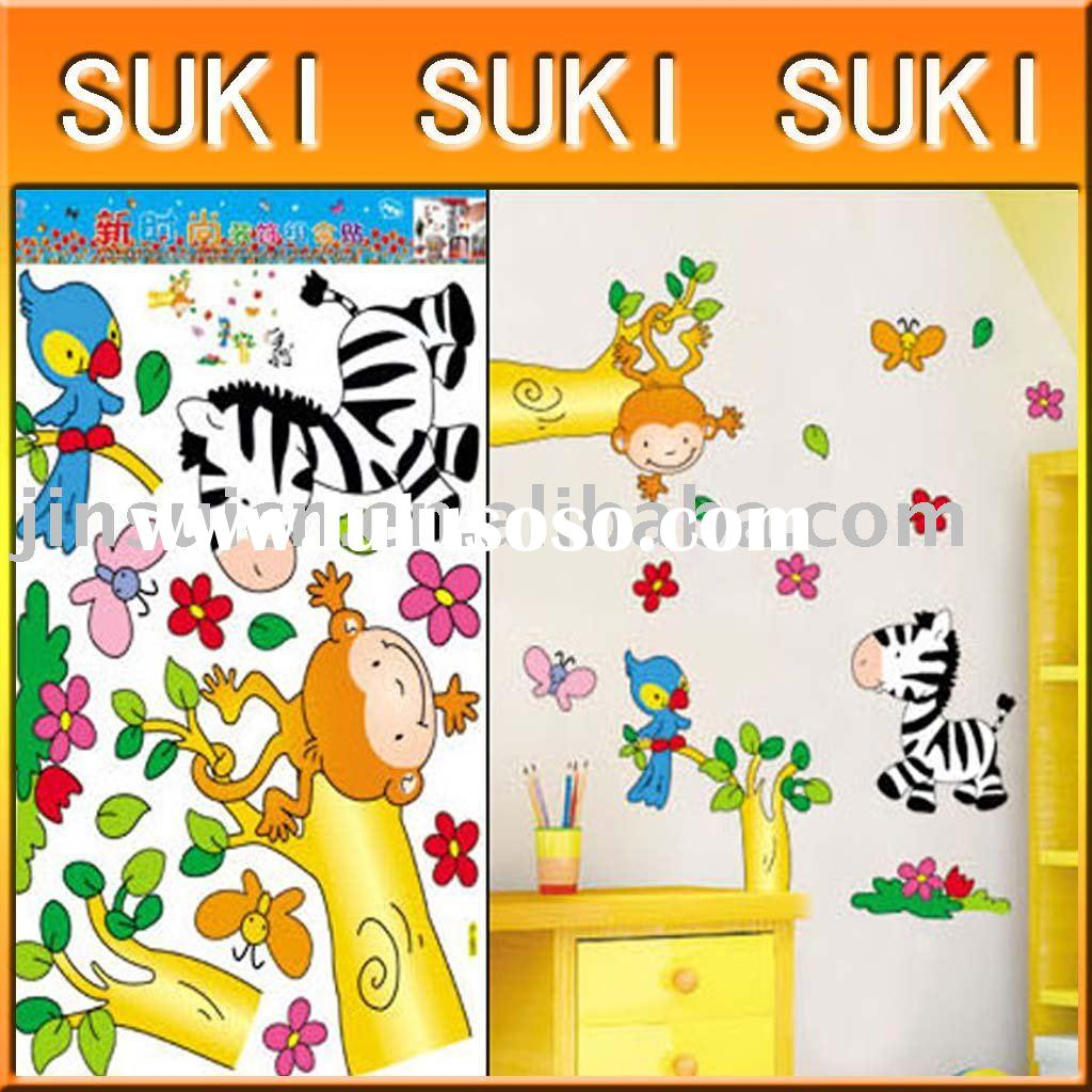 Decorative DIY  removable   wall stickers ,art wall paper