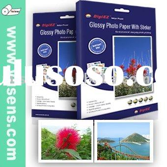 Factory Sell Inkjet Photo Paper With Sticker