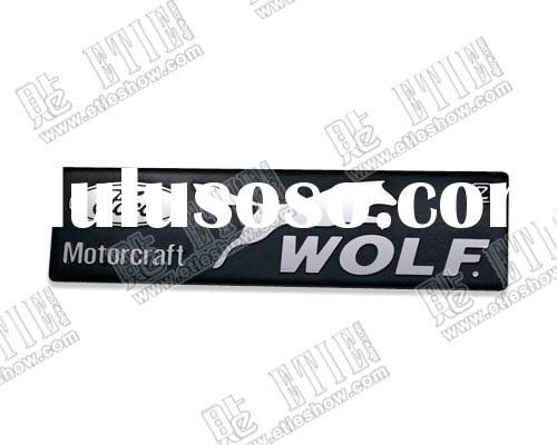 Ford  stainless steel thin car  sticker logo