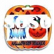 Glitter Tattoo in Flow Halloween Tattoo Sticker with Pumpkin and Ghost Designs