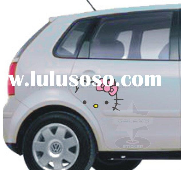 HELLO KITTY Glossy Auto/Car Vinyl Decorative Stickers Decals T1142