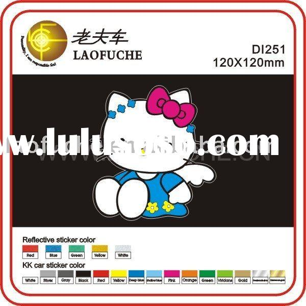 HELLO KITTY car stickers car sticker decals