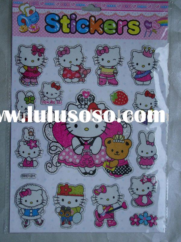 Hello kitty Puffy Sticker
