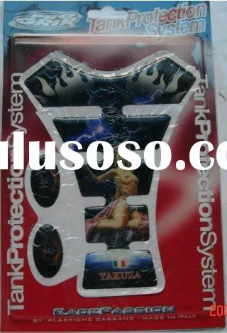 High quality Motorcycle Oil Tank Pad Sticker Decal