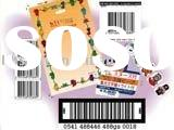 High-strength adhesive barcode label,sticker