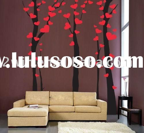 Home decoration sticker of  wall sticker and pvc sticker