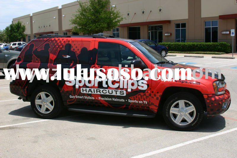 Inkjet vinyl car sticker for advertising