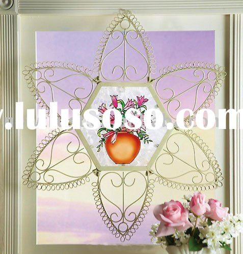 Lacy Metal Hanging Wall Art
