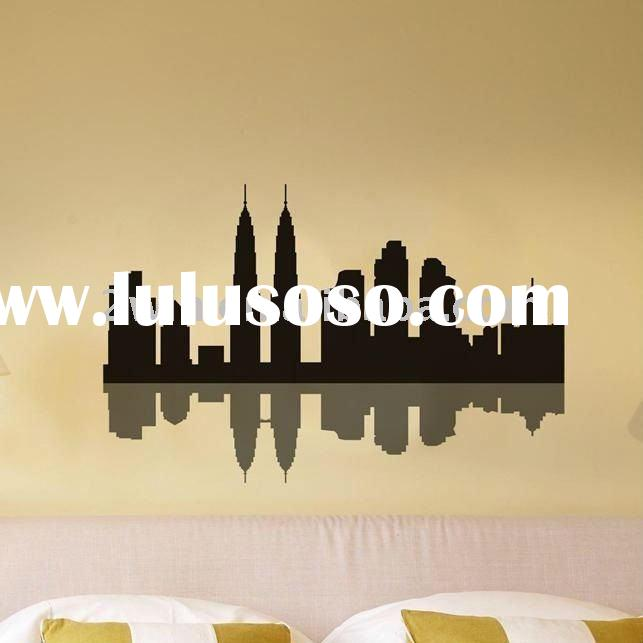 Modern decorative vinyl wall stickers for home decor