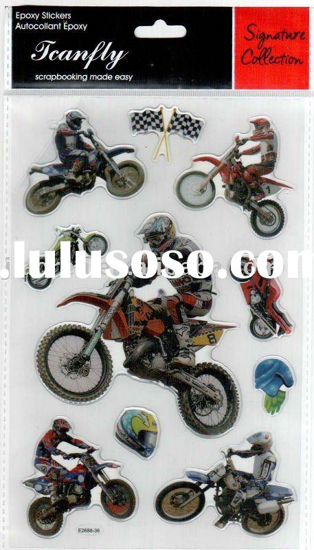 Motorcycle sticker decals