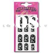 Nail Art Sticker with Logo Imprinting, Made of High-quality Material