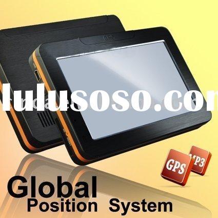 "New Map 4.3"" GPS Navigation MP3 MP4 FM Transmitter 2GB"