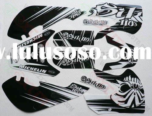Popular pit bike KLX model sticker / decal
