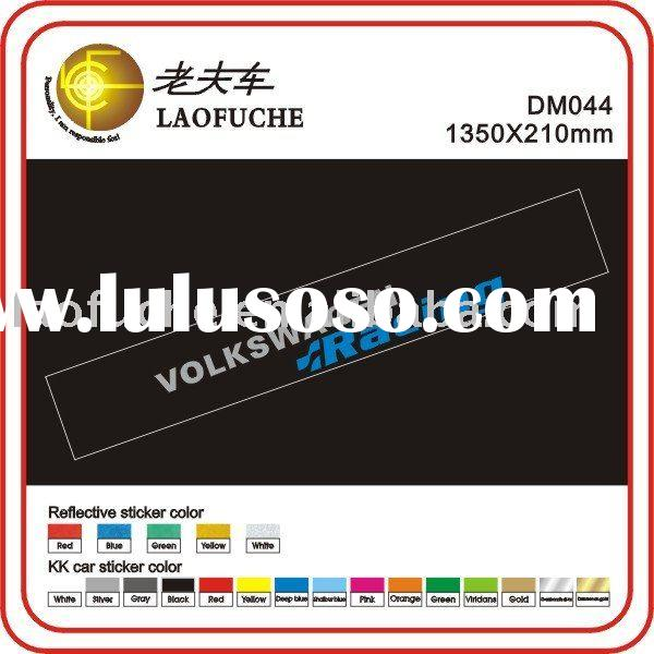 RACING car logo stickers printing stickers cars